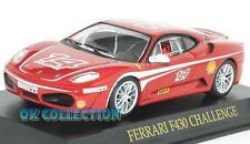1:43 _ FERRARI F430 CHALLENGE 2006 _ (008) + COPERCHIO BOX RIGIDO