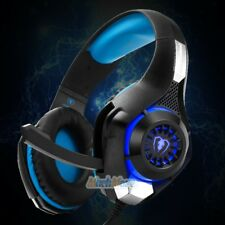 LED Gaming Headset Stereo Headphone 3.5mm Wired W/Mic For PC PS4 Xbox ONE 360