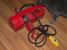 "Vintage 500 Pound Electric Winch Dayton USA Model 2Z668 3 Amp 10"" Auto Shop etc."