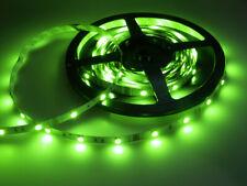 SMD LED Endlosband Stripe 5m 12V inkl. 230V Netzteil Kürzbar Superhell grün