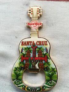 Hard Rock Cafe Magnet      bottel opener  Santa Cruz