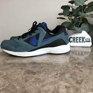 Rare Nike Air Icarus Extra QS Iced Jade Athletic Shoes 882019-300 Men's Size 12