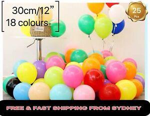 100x 19Colors 12''/30cm Latex Helium BalloonsParty Wedding Birthday Balloon dec