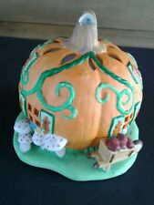 Partylite Pumpkin Patch Tealight House Halloween Fall Decor  P7303