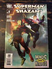 Superman First Thunder Shazam #1 Joshua Middleton ( DC) Free Combine Shipping