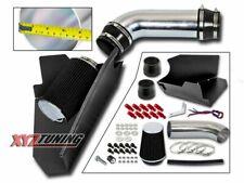 "4"" BLACK Heat Shield Cold Air Intake Kit + Filter For 96-00 GMC 5.0L/5.7L V8"
