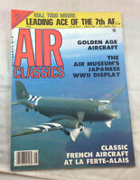 Maj Todd Moore French Aircraft August 1984     Air Classics  Magazine  Airplane