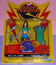 1996 DALE ARDEN alien humanoid with AirSled Flash Gordon tv show Playmates NM