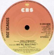 "BOZ SCAGGS ~ HOLLYWOOD / WE'RE WAITING ~ 1977 UK 7"" SINGLE ~ CBS 5836"