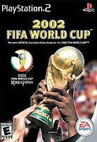 2002 FIFA World Cup (Sony PlayStation 2, 2002) Ps2 Soccer Game, Manual, Case