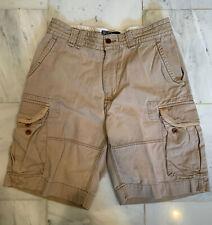 Men's Vintage Polo Ralph Lauren (32) Tan Heavy/Thick Classic Cargo Short