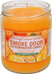 Smoke Odor Exterminator Candle Orange Lemon Splash 13 oz (3-Pack)