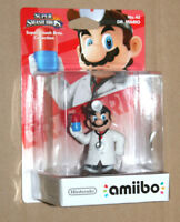 Amiibo Super Smash Bros Series Figure Nintendo Wii U No. 42 DR. Mario