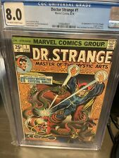 Doctor Strange #1 (OW/W) CGC 8.0 1st Silver Dagger