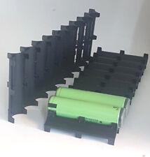 2 Stück Zellenabstandshalter Batteriehalter Halterung für 10 mal 18650 Akku