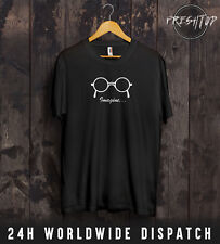 John Lennon Imagine T Shirt Glasses The Beatles Paul McCartney Liverpool Peace