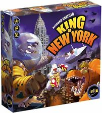 King of New York Board Game by Richard Garfield 2-6 players 8 years +