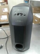 SONY SA-W10 POWERED  Super Sub-Woofer - Surround Theater Bass Speaker tested