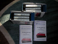 HIGH MIDDLE AGES -Teaching Co-Great Courses VHS Tapes
