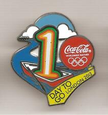 Pin's pin COCA COLA 1 DAY TO GO LONDON 2012 OLYMPIC GAMES (ref L14)