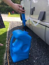 MOTORHOME CAMPERVAN FILLING PUMP KIT & Container  FILL PUMP non toxic hose