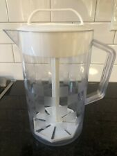 New listing Used Pampered Chef #2270 Quick Stir Pitcher 2 Quart Checkerboard