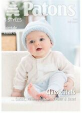 Patons 3978 Fairytale Cloud DK Easy Skill Level Classic Hats 5 Styles