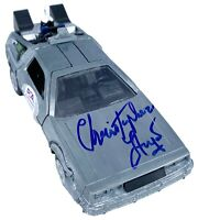 Christopher Lloyd autograph signed 1:32 Diecast Delorean Back to the Future PSA