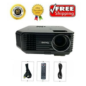 BenQ MP623 DLP Projector 2500 Lumens Cinema HDMI HD 1080i w/Remote bundle