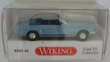 Wiking 020548 Ford T5 Cabrio hellblaumet. 1:87 HO