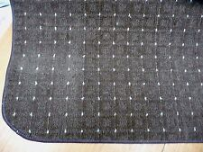 40 x 46 inch (101 x 116cm)BROWN GEOMETRIC DESIGN RUG.   BN CHEAP! #3038