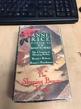 ANNE RICE writing as A. N. ROQUELAURE 3 trade paperbacks BEAUTY TRILOGY