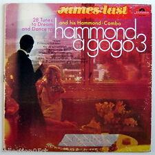 ONE 33 R.P.M. RECORD, JAMES LAST, HAMMOND À GOGO, VOLUME 3