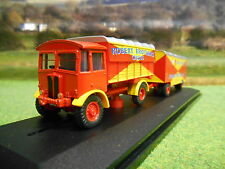 OXFORD AEC MATADOR & TRAILER ROBERT BROTHERS CIRCUS 1/76 76AEC019