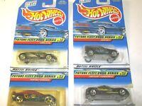 Future Fleet 2000 Complete Series Set Hot Wheels Die Cast Cars - Lot of 4