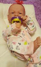 AWW! PERFECT BABY GIRL! Berenguer LifeLike PREEMIE Reborn DOLL, W BOTTLE EXTRAS