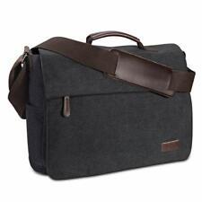 Umhängetasche Herren aus Vintagem Segeltuch Premium Herrentasche Laptoptasche...