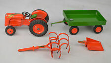 "Tekno #470 Ferguson Farm Tractor Set Denmark Tractor 2 3/4"" Long Excellent"