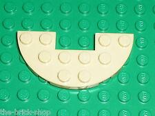 LEGO Tan Plate Half Circle ref 18646 / Set 41129 75136 10676 41122 41173 41067..
