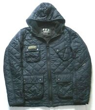 BARBOUR INTERNATIONAL HOODED JACKET - XXL - QUILTED - EXCELLENT CONDITON - £195