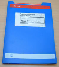 VW Passat B5 Motronic Einspritz und Zündanlage 1,6 Werkstatthandbuch Leitfaden