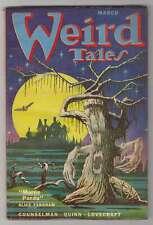 M0277: Weird Tales Pulp, March 1952, F/VF Condition; Derleth, Lovecraft, Smith
