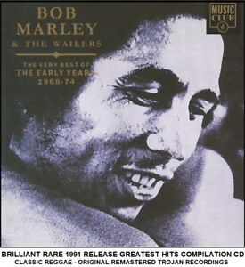 Bob Marley - The Very Best Greatest Hits Collection Classic Reggae 60's 70's CD