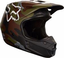 NEW 2018 FOX Racing V1 Camo MX Motocross ATV Riding Helmet Men's Size Medium