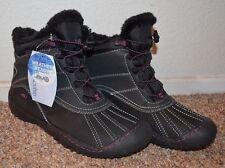 NEW ~ JBU Jambu Designs Women Black Ankle Waterproof Boots / Size 8 m *MICROBAN
