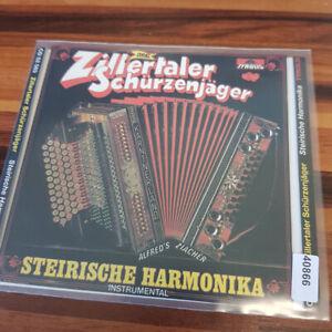 ZILLERTALER SCHÜRZENJÄGER: Steirische Harmonika    > VG (CD)