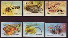 AUSTRALIA 2014 THINGS THAT STING SELF ADHESIVE SET OF 6 FINE USED