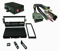 Radio Replacement SWC Retention Single DIN Dash Kit for GM Chevy GMC 2003-2013