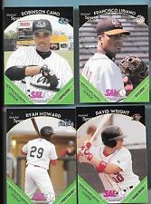 2002 South Atlantic League Set David Wright/Howard/Cano/Liriano/Weinke Rookie