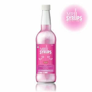 750ml Peach Flavour Drink Syrup - Flavouring for Drinks - Cocktail Syrup